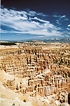 Utah: Bryce Canyon Natl Park.  Silent City.  Photo #: utpark104..Photo copyright Lee Foster, www.fostertravel.com, 510/549-2202, lee@fostertravel.com