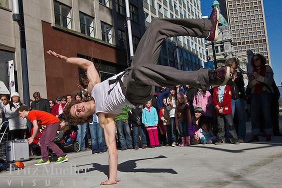 Yukon Urban Dance Ensemble takes it to the streets in Vancouver
