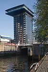 Inntel hotel building Leuvehaven Rotterdam Netherlands