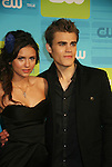 Guiding Light's Paul Wesley poses withNina Dobrev as they star in The Vampire Diaries at The CW Upfront 2010 green carpet arrivals on May 20, 2010 at Madison Square Gardens, New York, New York. (Photo by Sue Coflin/Max Photos)