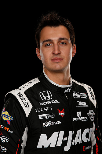 2 February, 2016, Indianapolis, Indiana USA<br /> Graham Rahal<br /> ©2016, Michael L. Levitt<br /> LAT Photo USA