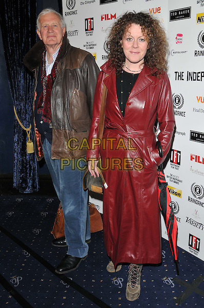 LONDON, ENGLAND - APRIL 29: John Irvin &amp; Claire Evans attend the Independent Filmmakers Ball, Cafe de Paris, Coventry St., on Wednesday April 29, 2015 in London, England, UK. <br /> CAP/CAN<br /> &copy;CAN/Capital Pictures