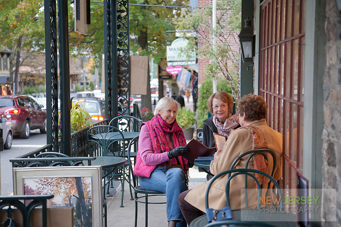 Friends at the Lambertville House Cafe, Lambertville, New Jersey