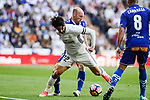 "Real Madrid's Francisco Roman ""Isco"" and Deportivo Alaves's Gaizka Toquero during La Liga match between Real Madrid and Deportivo Alaves at Stadium Santiago Bernabeu in Madrid, Spain. April 02, 2017. (ALTERPHOTOS/BorjaB.Hojas)"