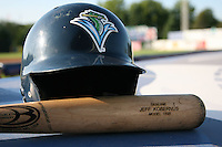 July 16, 2009:  The bat of Second Baseman Jeffrey Kobernus of the Vermont Lake Monsters during a game at Russell Diethrick Park in Jamestown Jammers, NY.  The Lake Monsters are the NY-Penn League Short-Season Class-A affiliate of the Washington Nationals.  Photo By Mike Janes/Four Seam Images