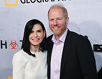 "09 May 2019 - Beverly Hills, California - Julianna Margulies, Noah Emmerich. National Geographic Screening of ""The Hot Zone"" held at Samuel Goldwyn Theater. Photo Credit: Billy Bennight/AdMedia"