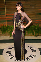 Karen O arriving for the 2014 Vanity Fair Oscars Party, Los Angeles. 02/03/2014 Picture by: James McCauley/Featureflash