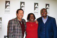 LOS ANGELES - JAN 28: Smokey Robinson, Marcia Thomas, Earl Bryant at the 30th Anniversary of 'We Are The World' at The GRAMMY Museum on January 28, 2015 in Los Angeles, California