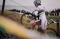 CX World Champion Sanne Cant (BEL/IKO-Beobank)<br /> <br /> Superprestige cyclocross Hoogstraten 2019 (BEL)<br /> Women's Race<br /> <br /> &copy;kramon