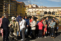 Touring on the banks of the Arno River, Florence, Italy, Europe, 2007, ©Stephen Blake Farrington