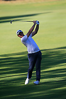 Sam Horsfield (ENG) in action on the 11th during Round 2 of the ISPS Handa World Super 6 Perth at Lake Karrinyup Country Club on the Friday 9th February 2018.<br /> Picture:  Thos Caffrey / www.golffile.ie<br /> <br /> All photo usage must carry mandatory copyright credit (&copy; Golffile | Thos Caffrey)