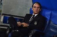 Roberto Mancini coach of Italy<br /> Roma 12-10-2019 Stadio Olimpico <br /> European Qualifiers Qualifying round Group J <br /> Italy - Greece <br /> Photo Antonietta Baldassarre/Insidefoto