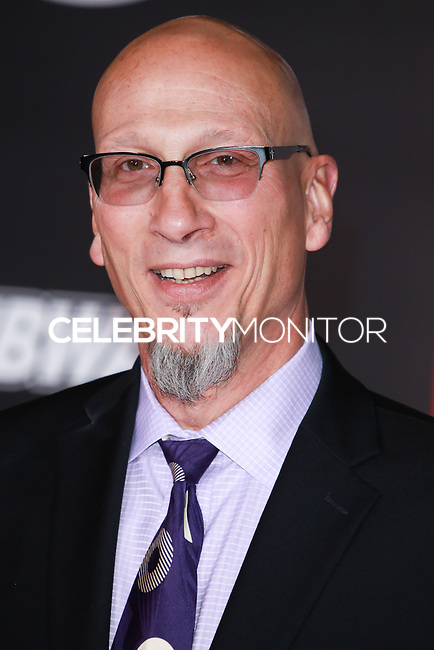 HOLLYWOOD, LOS ANGELES, CA, USA - NOVEMBER 04: Roy Conli arrives at the Los Angeles Premiere Of Disney's 'Big Hero 6' held at the El Capitan Theatre on November 4, 2014 in Hollywood, Los Angeles, California, United States. (Photo by David Acosta/Celebrity Monitor)