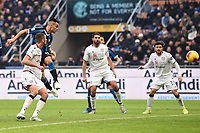 Lautaro Martinez of FC Internazionale scores the goal of 1-0 <br /> Milano 26/01/2020 Stadio San Siro <br /> Football Serie A 2019/2020 <br /> FC Internazionale - Cagliari <br /> Photo Image Sport / Insidefoto