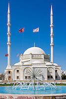 CYP, CYPRUS, North cyprus (turkish), Ammochostos/Famagusta (Gazimagusa): Osman Fazil Polat Pasa Camii - Mosque | Nord-Zypern (tuerkisch), Famagusta (Gazimagusa), auch Ammochostos genannt: Osman Fazil Polat Pasa Camii - Moschee