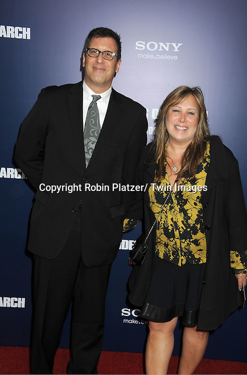 """Richard LaGravanese and wife attends the New York Premiere of """"The Ides of March"""" .on October 5, 2011 at The Ziegfeld Theatre in New York City. The movie stars George Clooney, Marisa Tomei, Evan Rachel Wood, Paul Giamatti, Phillip Seymour Hoffman and Jeffrey Wright."""