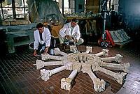Escola de restauro em Florença. Itália. 1998. Foto de Juca Martins.