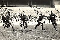 Football action. Ohio State vs. Ohio Wesleyan.  October 1, 1932. (Columbus Dispatch file photo