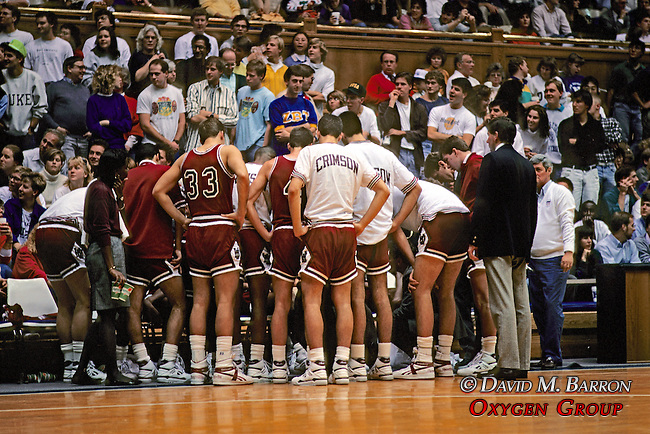 Harvard Basketball At Duke University Cameron Arena