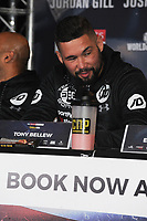 Tony Bellew is pictured at the Undercard and Main Event press conference for Saturday May 5th's boxing at the 02 arena in London. May 3, 2018. Credit: Matrix/MediaPunch ***FOR USA ONLY***<br />