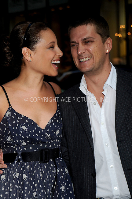 WWW.ACEPIXS.COM . . . . .....June 25, 2008. New York City.....Marisol Thomas and singer Rob Thomas arrive at the 'Wackness' premiere held at at AMC Loews 19th Street on June 25, 2008 in New York City...  ....Please byline: Kristin Callahan - ACEPIXS.COM..... *** ***..Ace Pictures, Inc:  ..Philip Vaughan (646) 769 0430..e-mail: info@acepixs.com..web: http://www.acepixs.com