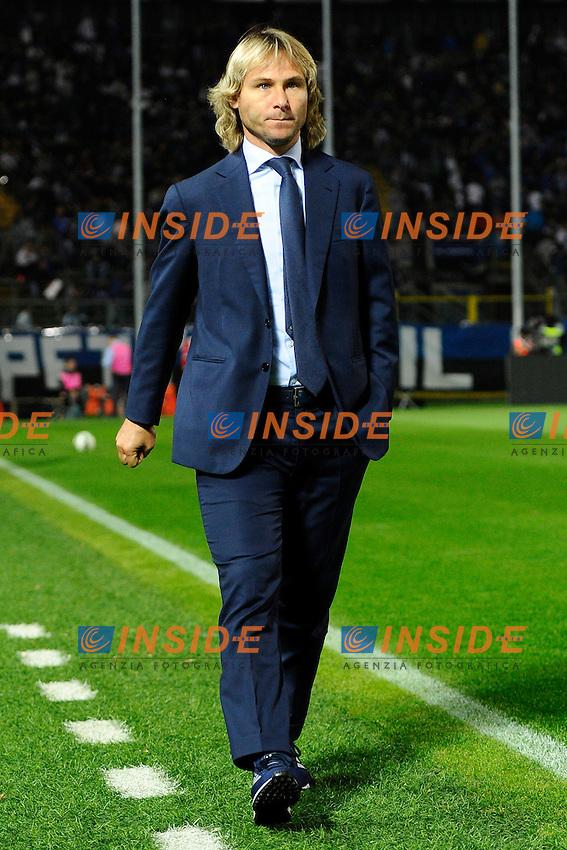 Pavel Nedved Juventus<br /> Bergamo 27-09-2014 Stadio Atleti Azzurri d'Italia - Football 2014/2015 Serie A. Atalanta - Juventus Foto Giuseppe Celeste / Insidefoto