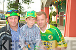 Ted, Jamie and Paudie McCarthy watched the game in the INEC on Sunday.   Copyright Kerry's Eye 2008