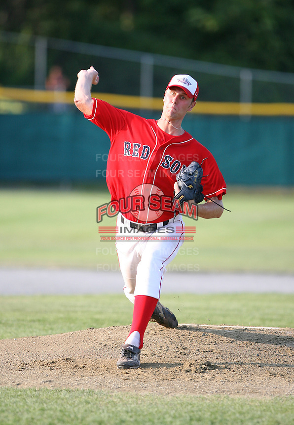 July 28th 2007:  Eddie Burns during the Cape Cod League All-Star Game at Spillane Field in Wareham, MA.  Photo by Mike Janes/Four Seam Images
