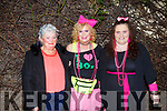 Enjoying the 80s theme before they head to the disco outside Cassidys on Friday night.<br /> L to r: Anita Ryle (Mitchells Ave), Kathy Mullins (Caheranne Close) and Catherine Moriarty (Kevin Barrys).