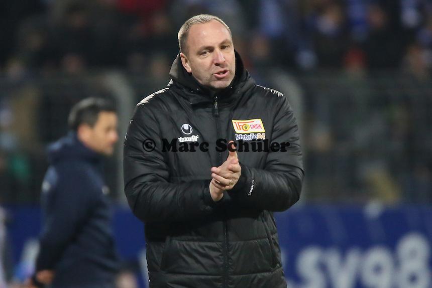 Trainer Norbert Duewel (Union) - SV Darmstadt 98 vs. 1. FC Union Berlin, Stadion am Boellenfalltor