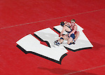 MADISON, WI - JANUARY 19: Trevor Brandvold of the Wisconsin Badgers wrestling team against the Penn State Nittany Lions at the Field House on January 19, 2007 in Madison, Wisconsin. The Badgers beat the Nittany Lions 17-16. (Photo by David Stluka)