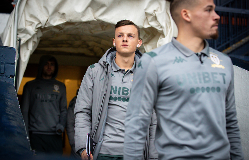 Leeds United's Ben White arrives at Kenilworth Road<br /> <br /> Photographer Alex Dodd/CameraSport<br /> <br /> The EFL Sky Bet Championship - 191123 Luton Town v Leeds United - Saturday 23rd November 2019 - Kenilworth Road - Luton<br /> <br /> World Copyright © 2019 CameraSport. All rights reserved. 43 Linden Ave. Countesthorpe. Leicester. England. LE8 5PG - Tel: +44 (0) 116 277 4147 - admin@camerasport.com - www.camerasport.com