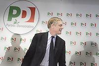 Roma, 19 Novembre 2013<br /> Santa Maria delle Fratte, sede PD<br /> Conferenza stampa di Gianni Cuperlo sul lavoro