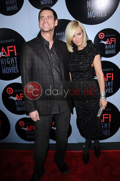Jim Carrey and Jenny McCarthy<br />