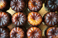 Speciality French patisserie gateau cakes from Lemoine in Bordeaux France, Le Canele de Bordeaux