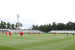 17 May 2011: The United States Women's National Team held a training session at WakeMed Stadium in Cary, North Carolina as part of their preparations for the 2011 Women's World Cup.