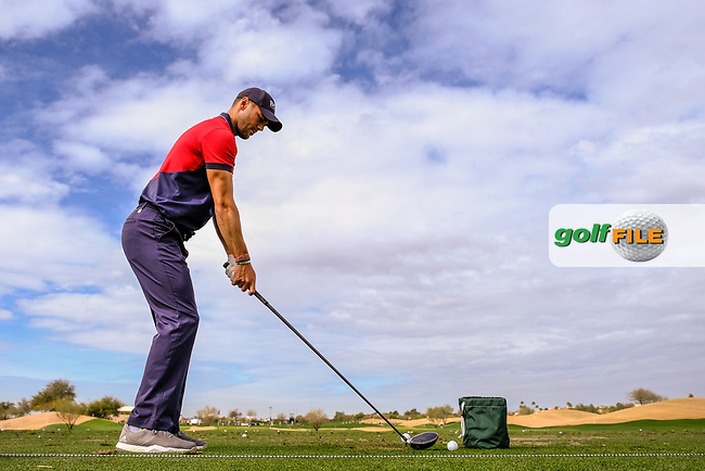 Martin Kaymer (GER) during the preview round of the Waste Management Phoenix Open, TPC Scottsdale, Scottsdale, Arisona, USA. 30/01/2019.<br /> Picture Fran Caffrey / Golffile.ie<br /> <br /> All photo usage must carry mandatory copyright credit (&copy; Golffile | Fran Caffrey)