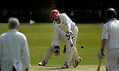 West of Scotland CC V Uddingston CC, Scottish National Cricket League, Premier Div, at Hamilton Cres, Glasgow - West Pro Andrew Ellis plays the ball to leg, going on to top-score for his side, making 67 - Picture by Donald MacLeod - 20 June 09