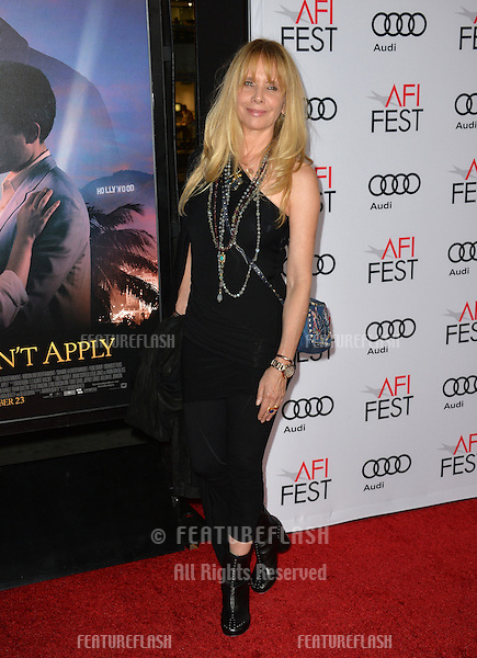 LOS ANGELES, CA. November 10, 2016: Actress Rosanna Arquette at World Premiere of &quot;Rules Don't Apply&quot;, part of the AFI Fest 2016, at the TCL Chinese Theatre, Hollywood.<br /> Picture: Paul Smith/Featureflash/SilverHub 0208 004 5359/ 07711 972644 Editors@silverhubmedia.com