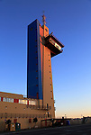 Port authority control tower building, city of Almeria, Spain