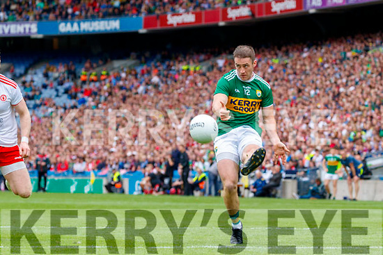 Stephen O'Brien, Kerry during the All Ireland Senior Football Semi Final between Kerry and Tyrone at Croke Park, Dublin on Sunday.