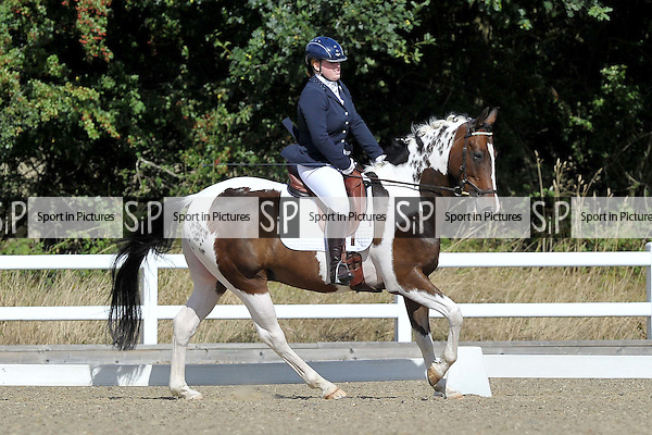 Class 4. British dressage. Brook Farm Training Centre. Essex. 09/09/2016. MANDATORY Credit Garry Bowden/Sportinpictures - NO UNAUTHORISED USE - 07837 394578