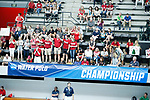 INDIANAPOLIS, IN - MAY 14: Stanford University plays UCLA during the Division I Women's Water Polo Championship held at the IU Natatorium-IUPUI Campus on May 14, 2017 in Indianapolis, Indiana. Stanford edges UCLA, 8-7, to win fifth women's water polo title in the past seven years. (Photo by Joe Robbins/NCAA Photos/NCAA Photos via Getty Images)
