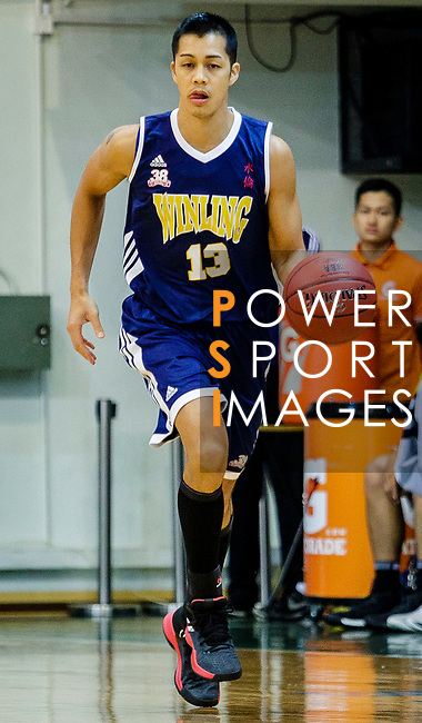 Joe Glen Matthew #13 of Winling Basketball Club in action during the Hong Kong Basketball League game between Eagle and Winling at Southorn Stadium on May 4, 2018 in Hong Kong. Photo by Yu Chun Christopher Wong / Power Sport Images