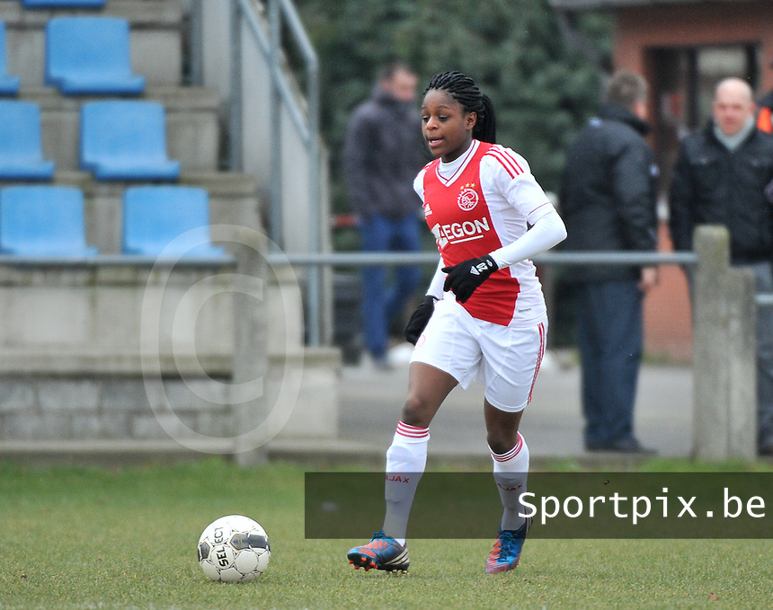 AJAX Amsterdam Dames : Liza van der Most .foto JOKE VUYLSTEKE / Vrouwenteam.be