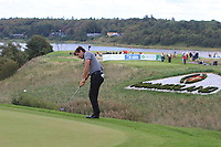 Robert Rock (ENG) on the 16th green during Round 4 of Made in Denmark at Himmerland Golf &amp; Spa Resort, Farso, Denmark. 27/08/2017<br /> Picture: Golffile | Thos Caffrey<br /> <br /> All photo usage must carry mandatory copyright credit     (&copy; Golffile | Thos Caffrey)