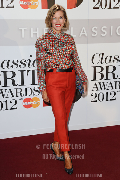 Cerys Matthews arriving for the Classic Brit Awards 2012 at the Royal Albert Hall, London. 02/10/2012 Picture by: Steve Vas / Featureflash
