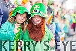 Ruth Kelliher Enda Wickham at Tralee Saint Patrick's day parade on Tuesday.