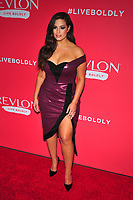 NEW YORK, NY - JANUARY 24: Ashley Graham at the Revlon Live Boldly launch at Skylight Modern on January 24, 2018 in New York City.  Credit: John PalmerMediaPunch