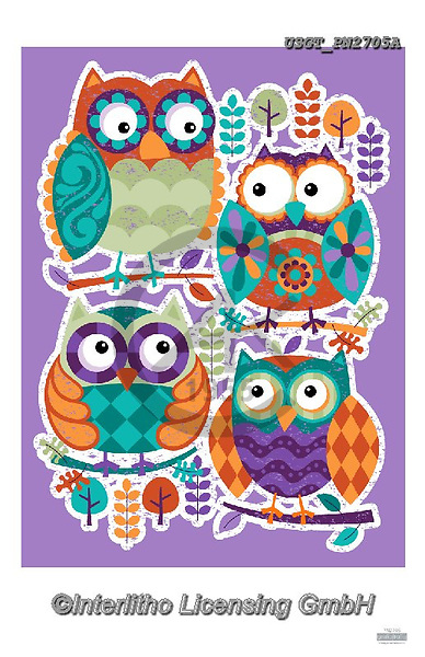 Lamont, GIFT WRAPS, GESCHENKPAPIER, PAPEL DE REGALO, paintings+++++,USGTPN2705A,#gp#, EVERYDAY ,notebook,notebooks,owls